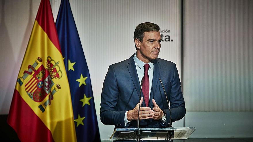 Pedro Sánchez portarà la pujada del preu de la llum a Europa