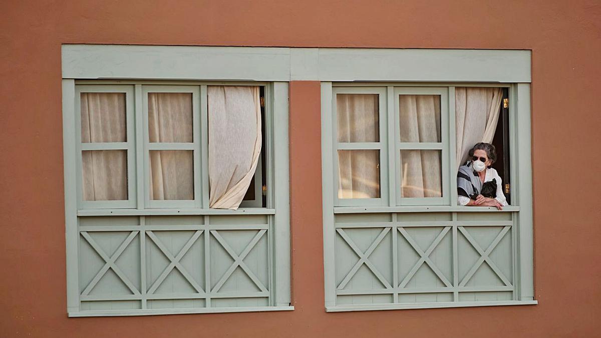 Uno de los pocos contactos directos que los turistas tenían con el exterior era a través de las ventanas.
