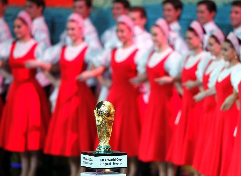 Las imágenes del sorteo del Mundial de Rusia 2018