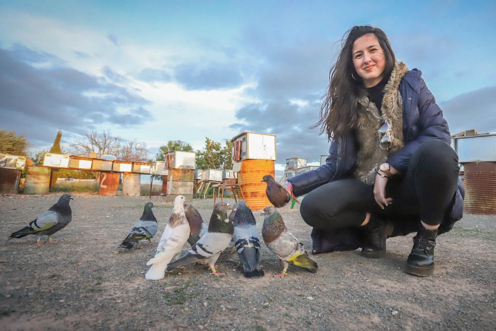Albatera: Ana Cánovas es campeona nacional junior de colombicultura