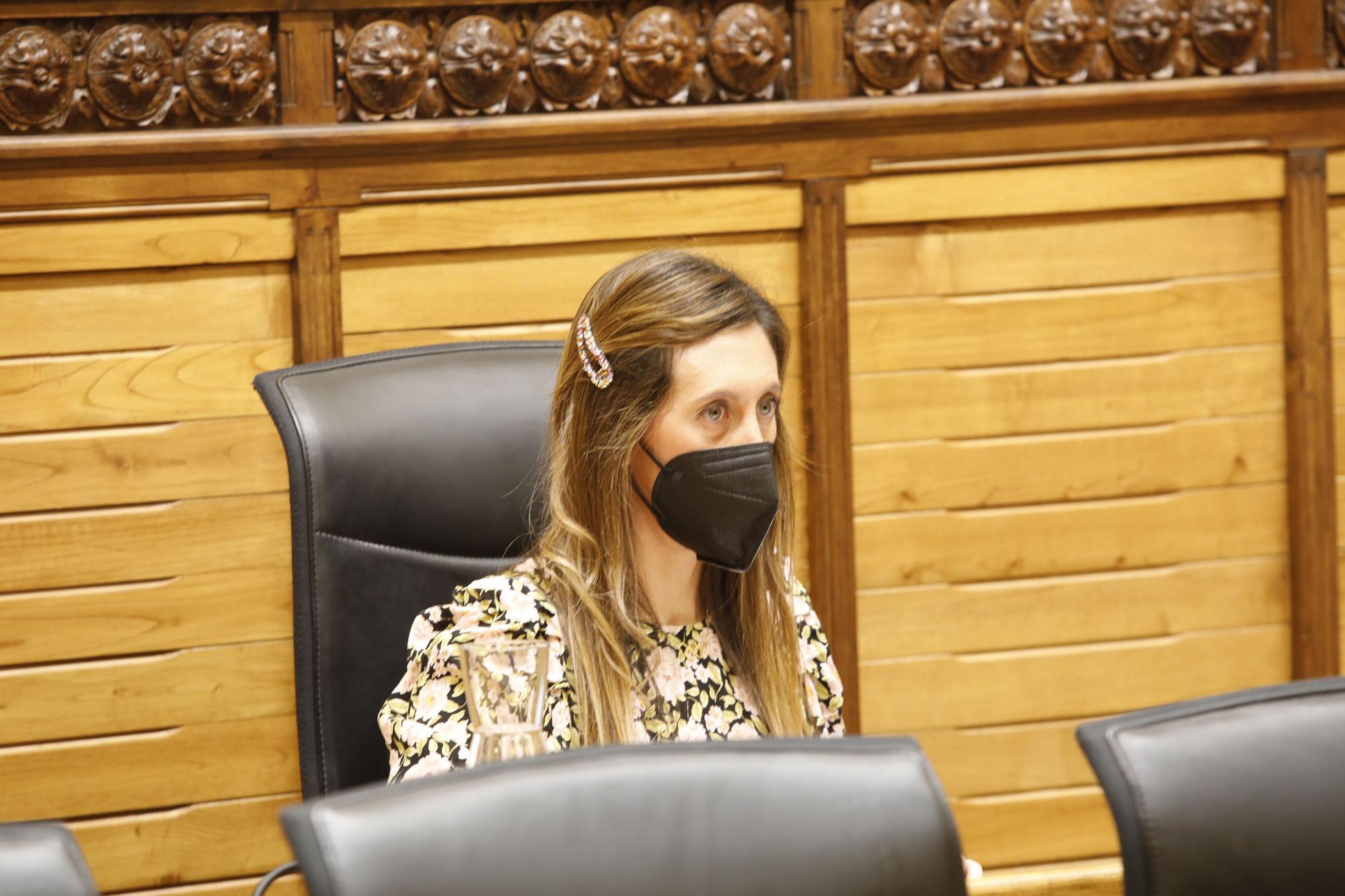 Pleno municipal de enero en el Ayuntamiento de Gijón.