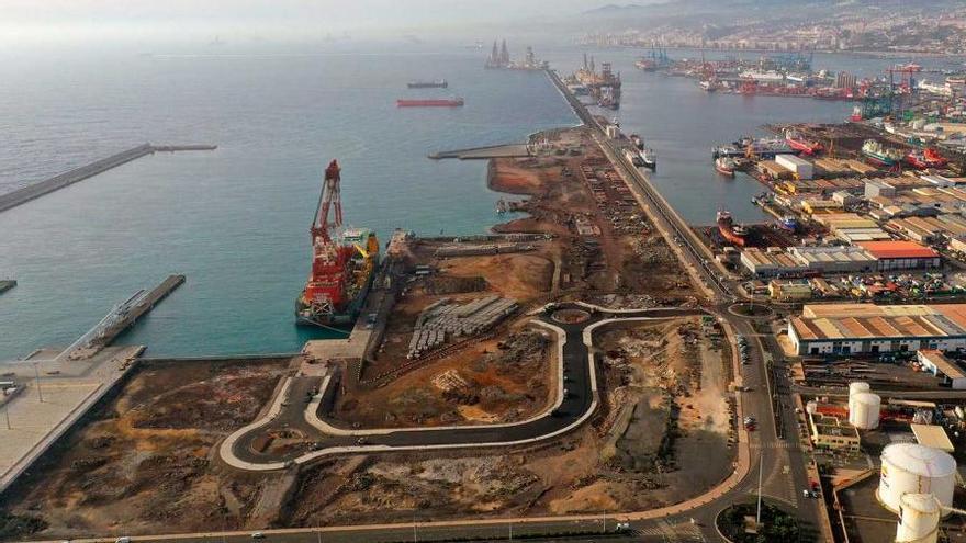 Las obras que financia Europa en los Puertos de Las Palmas, a un clic