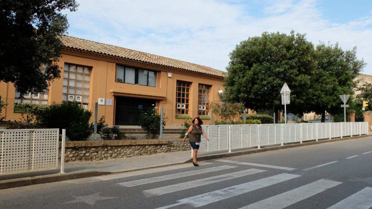 L'escola de Bàscara, tancada aquest dilluns