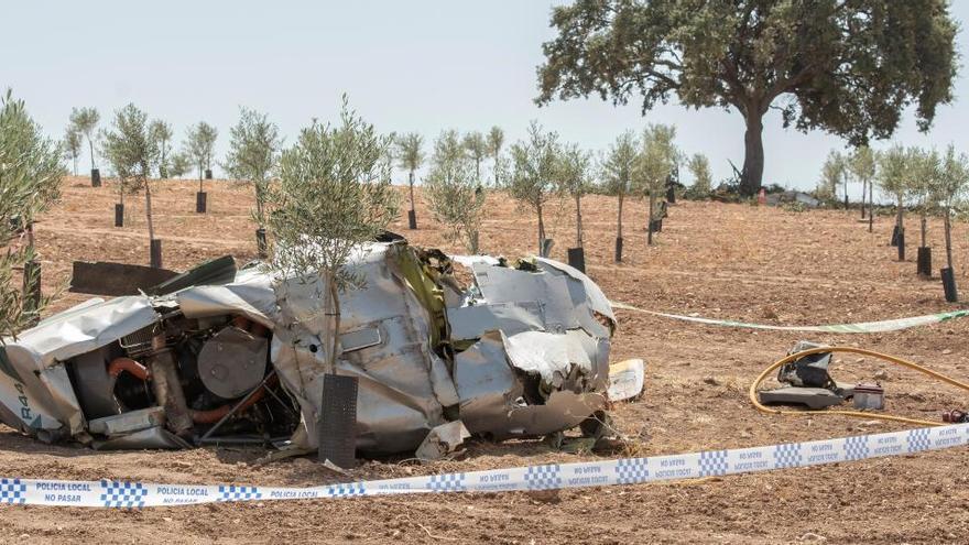 Se investiga por narcotráfico un accidente de helicóptero con dos fallecidos en Sevilla