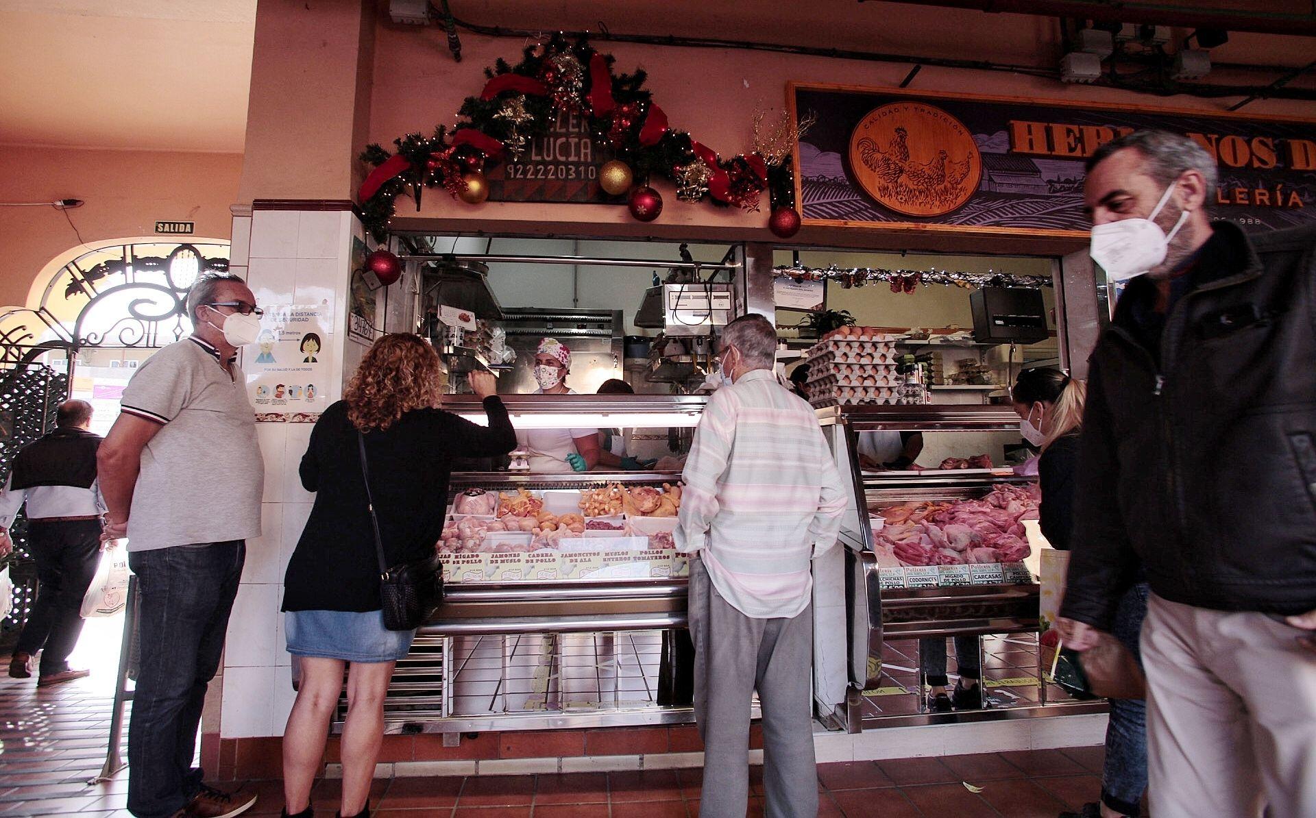 Compras Mercado de La Laguna