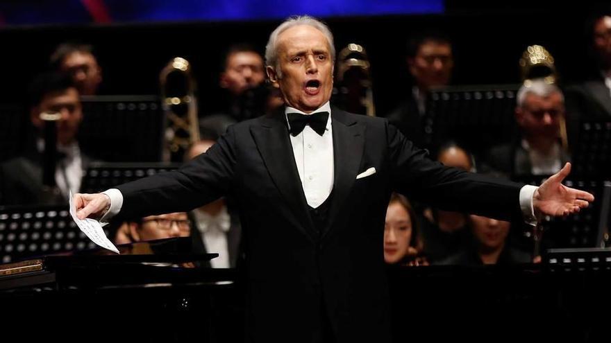 El tenor Josep Carreras, dos años más sobre los escenarios