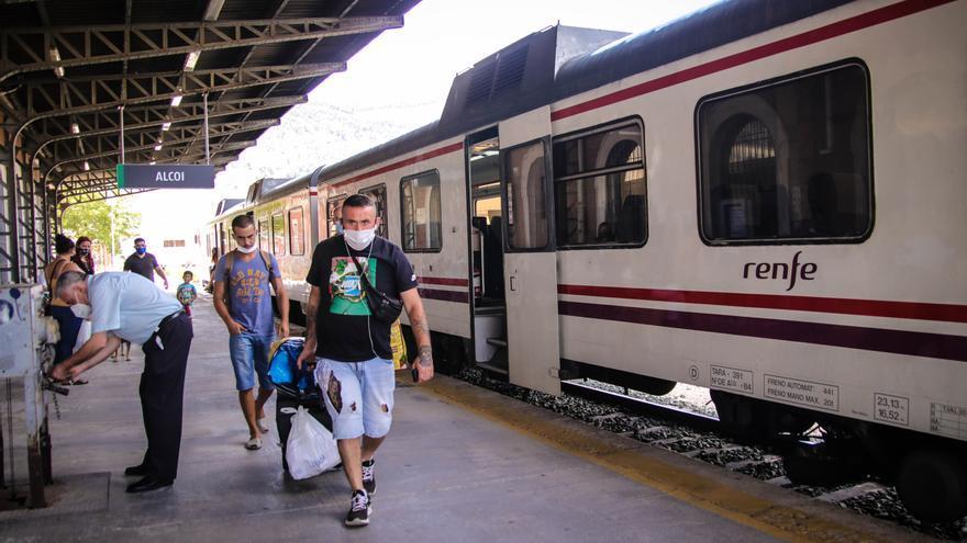 Compromís reclama en el Senado que se recuperen las frecuencias del cercanías Alcoy-Xàtiva