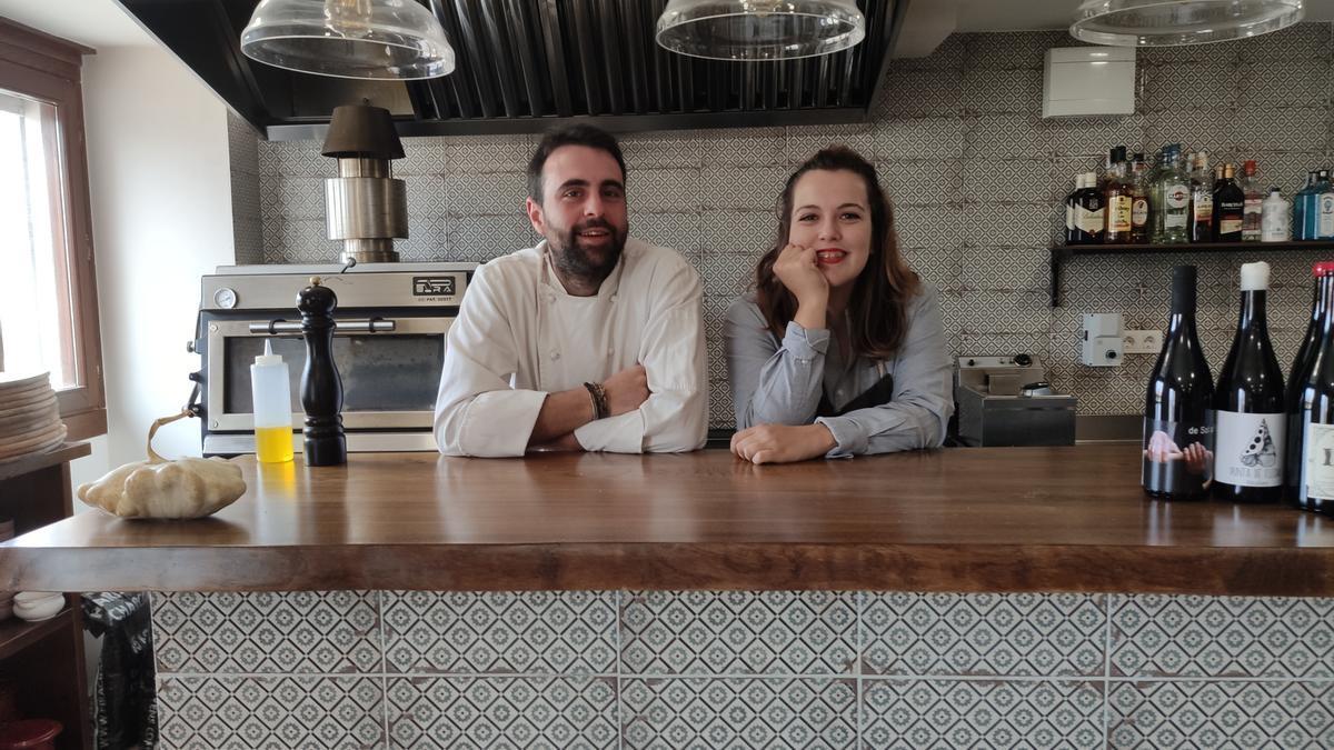 Alberto y Maria, los dos jóvenes emprendedores.