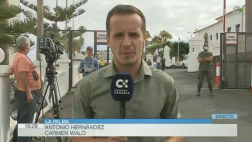La Televisión Canaria arrasa en su retransmisión del volcán de La Palma y logra audiencias históricas