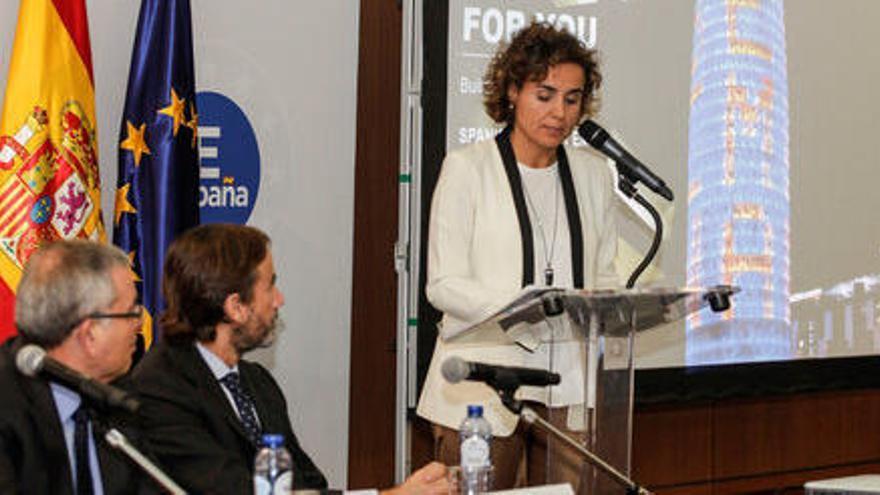 Comín, Montserrat i Collboni defensen junts a Brussel·les la candidatura de Barcelona per acollir l'EMA