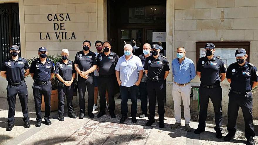 Manuel Gallardo, nuevo jefe de la Policía Local de Santa Margalida