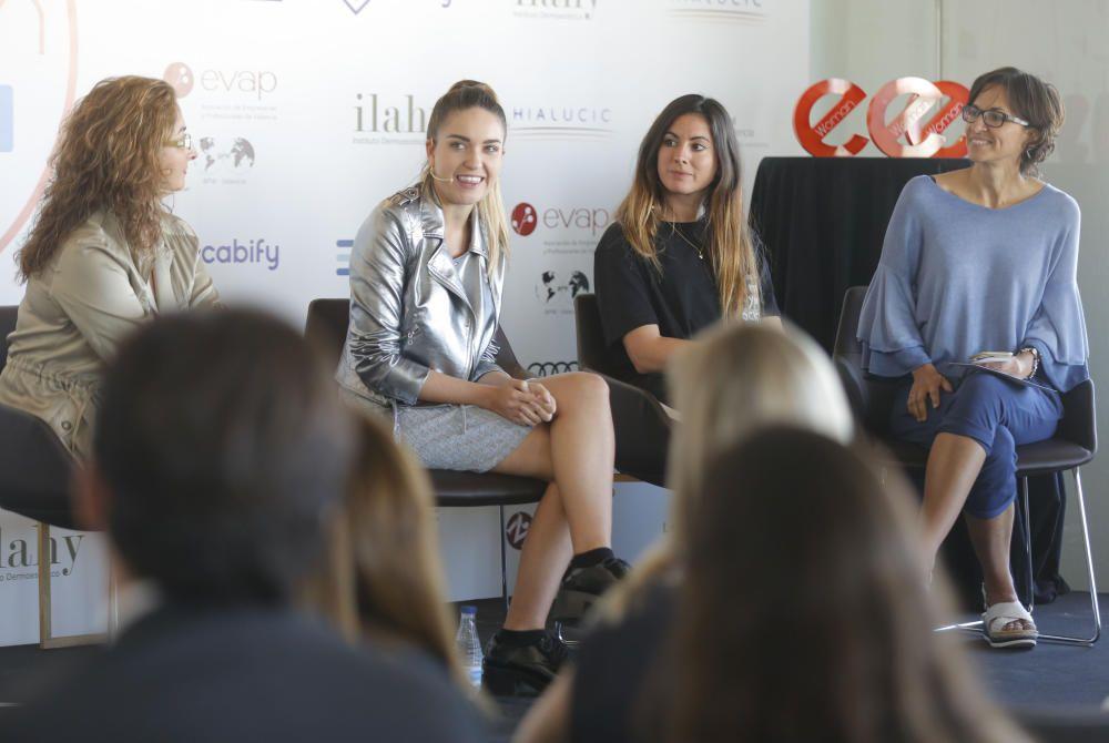 Alicia Mora, Marta Alejano, Almudena del Mar Muñoz y Elena de Benito