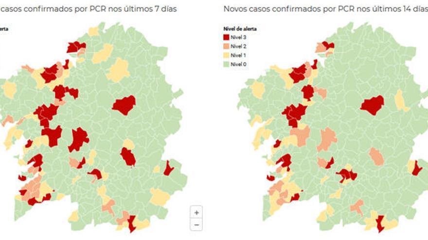 Ferrol pasa, con Narón, a nivel rojo de alerta por Covid