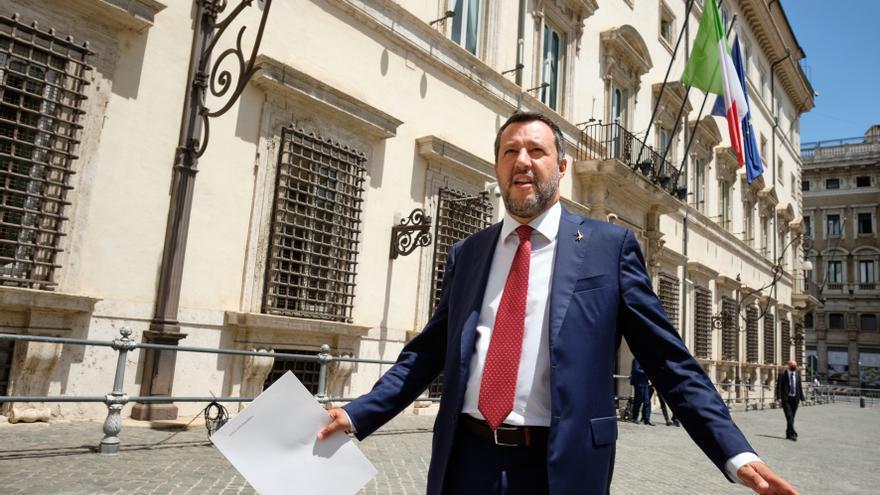 La justicia italiana aplaza el juicio contra Salvini por el caso del Open Arms