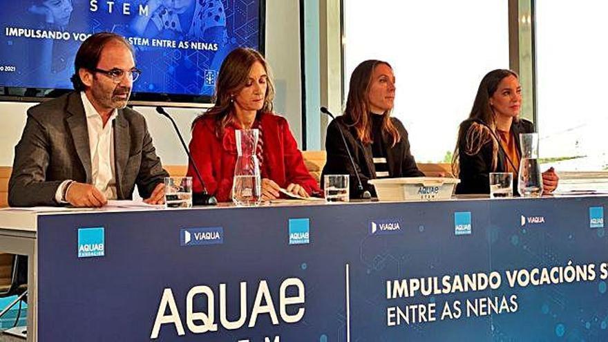 Viaqua lanza 'Aquae STEM' para fomentar as vocacións científicas e tecnolóxicas
