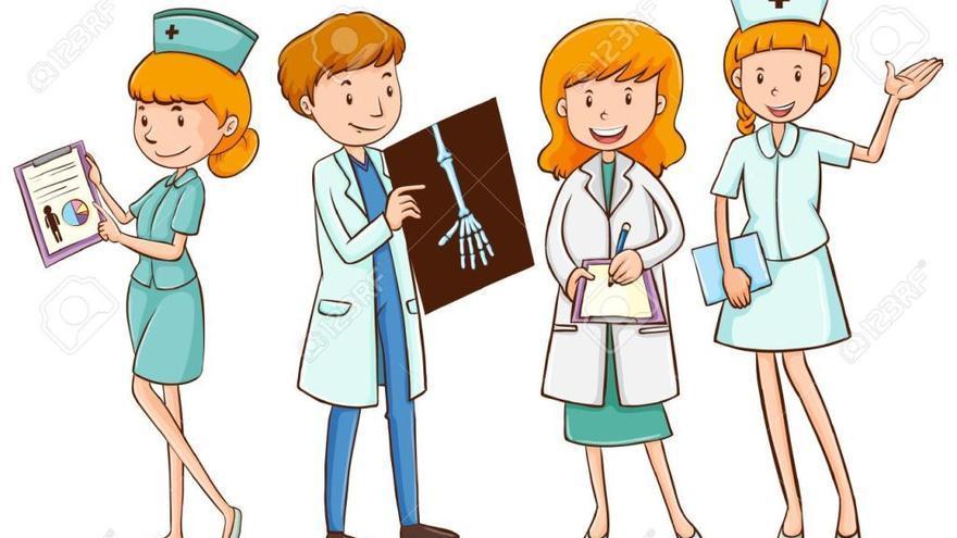 Harta de ser la 'enfermera sexy'