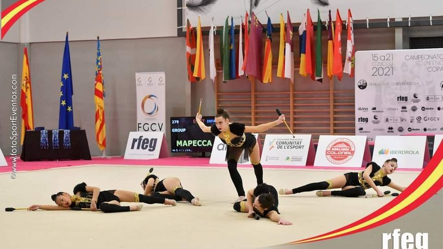 Buenos resultados del Mapecca en competiciones naciones