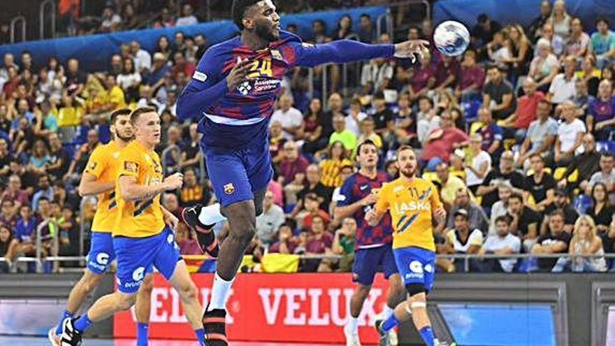 El Barça s'exhibeix a Eslovènia i ja és a quarts de final per la via ràpida