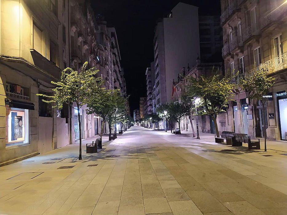 Pulpo para llevar en el primer domingo de confinamiento perimetral en Ourense