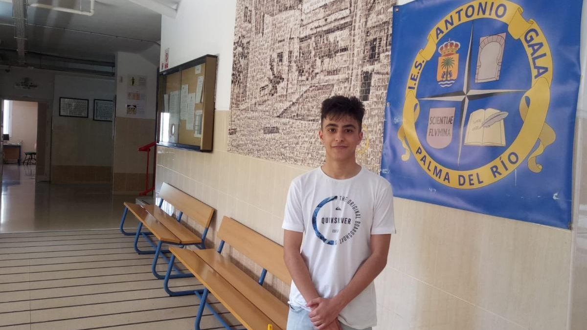 Un alumno del IES Antonio Gala, de Palma del Río, obtiene la nota más alta de la PEvAU
