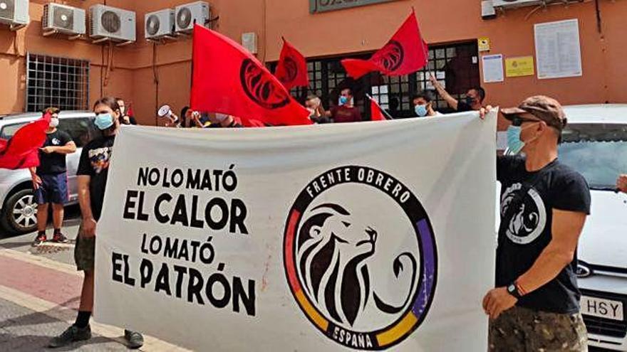 """Concentración para exigir """"justicia"""" para Eleazar"""