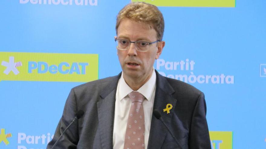 El PDeCAT està disposat a negociar els pressupostos si hi ha una «proposta raonable»