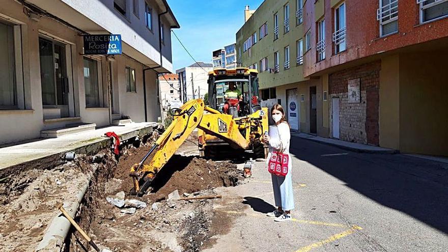 Las obras del plan Deporemse, que apoya la Diputación, afrontan su recta final