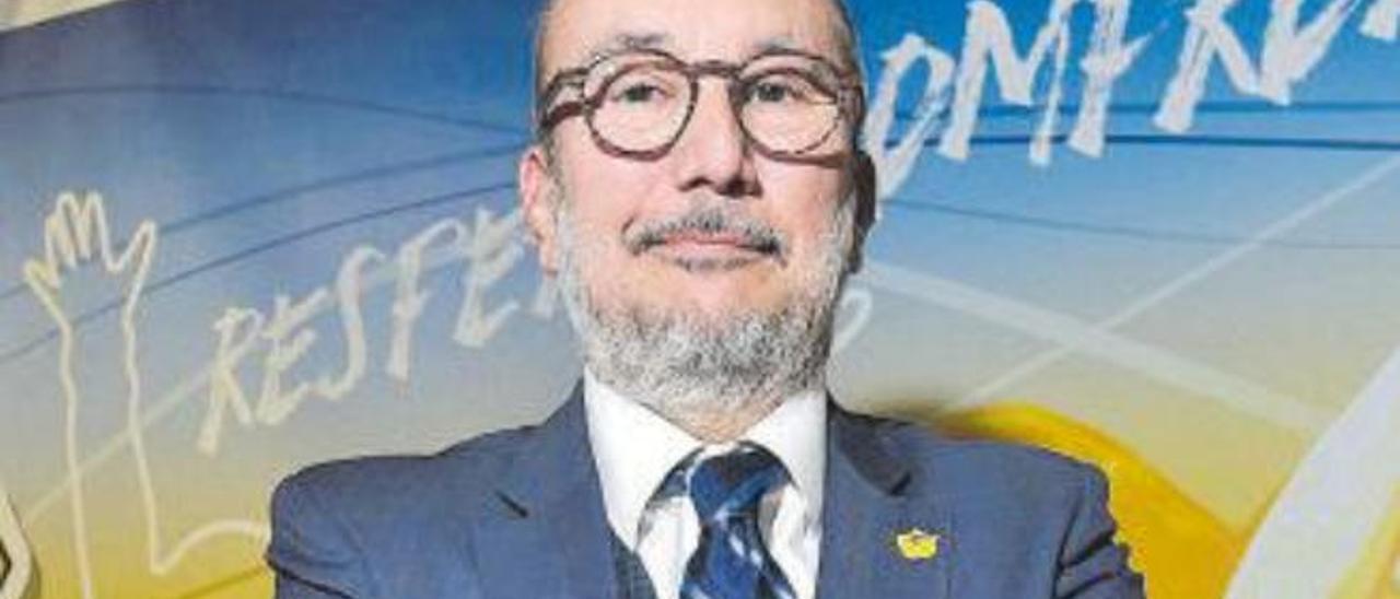 Enrique Moreno, presidente del Herbalife Gran Canaria, en imagen de archivo.