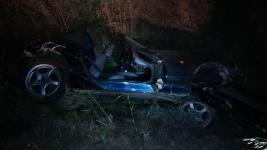 Mor un home a Calonge després caure per un desnivell amb el cotxe