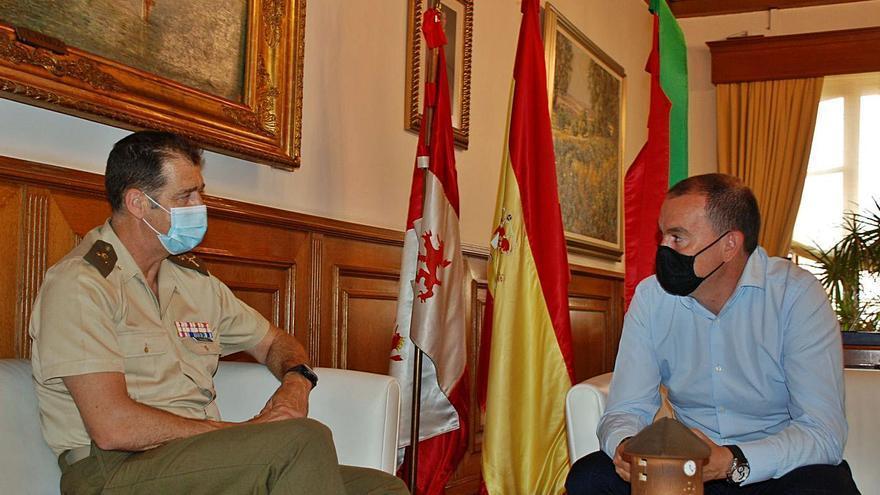 Primera toma de contacto entre Requejo y el general Manuel Maldonado