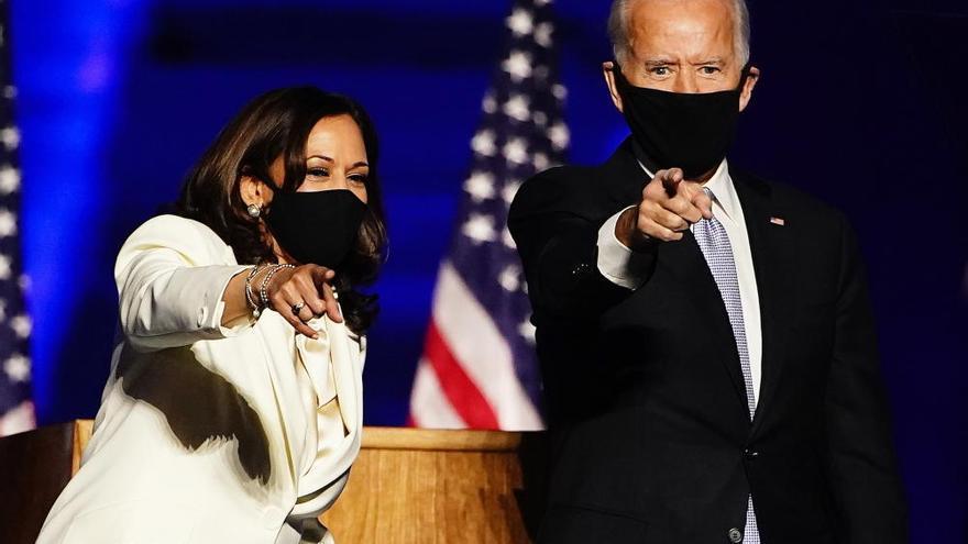 Joe Biden y Kamala Harris, Personas del Año para la revista 'Time'