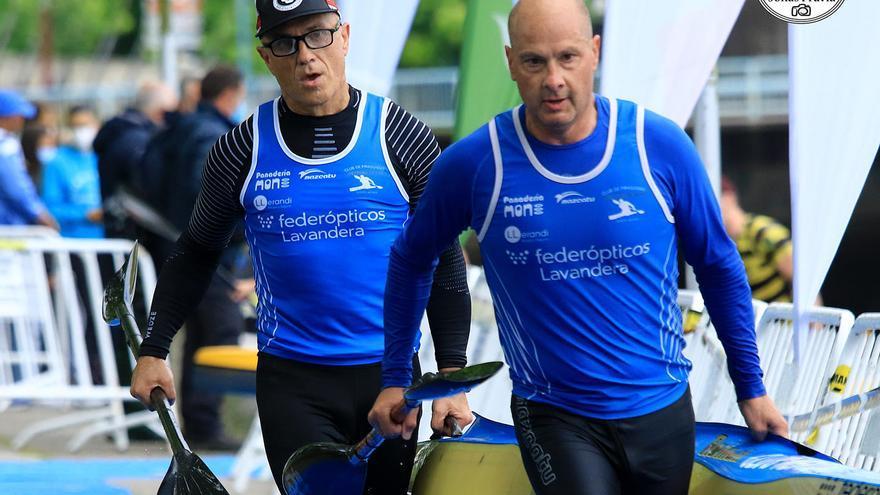 Los veteranos asturianos consiguen trece medallas en el Campeonato de España máster de maratón, en Pontevedra