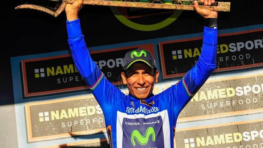 Nairo Quintana se corona por segunda vez en la Tirreno-Adriático