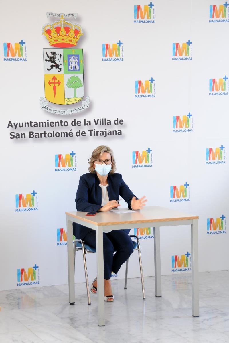 Conchy Narváez, alcaldesa de San Bartolomé de Tirajana