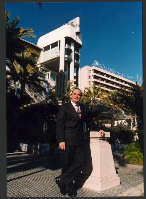 El empresario en una imagen de la década de 1990.