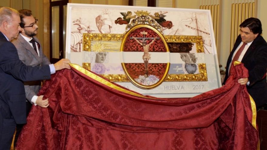 Cartel del XXV Aniversario de la hermandad de la Humildad y Paciencia de Alicante