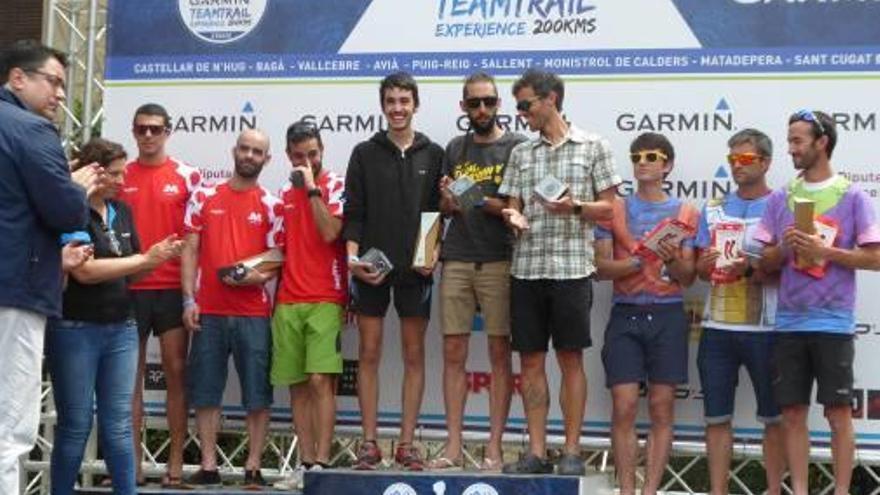 El CMP Sallent s'imposa  en la Garmin Team Trail