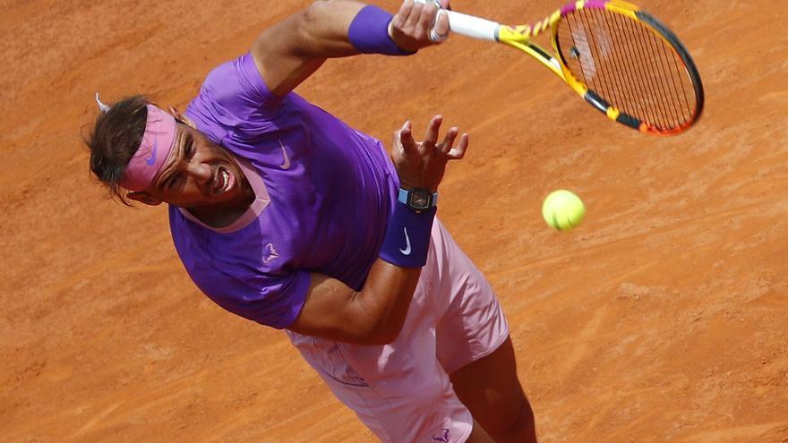 Nadal se deshace del 'cañonero' Opelka y se cita con Djokovic en la final de Roma