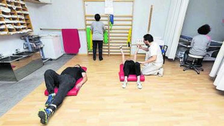 La pandemia dobla la demora para el fisioterapeuta en los centros de salud