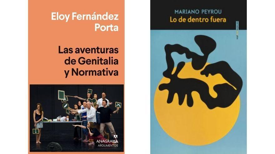 Peyrou y Fernández Porta presentan sus libros en Alicante