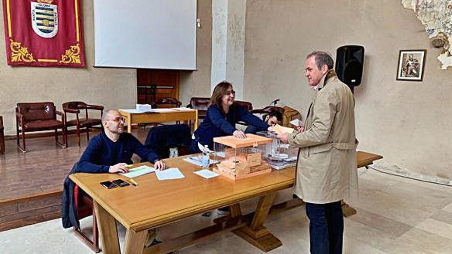 Votación en Villalpando, el único de los 10 municipios más grandes de Zamora donde sigue ganando el PP.