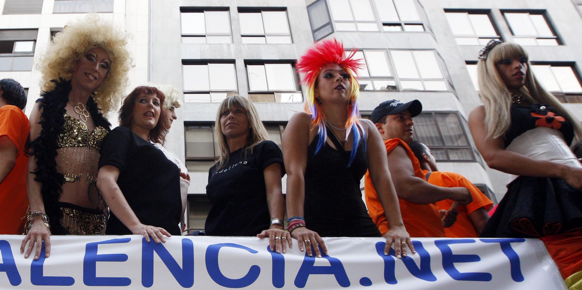 Manifestación y marcha del Orgullo en 2010