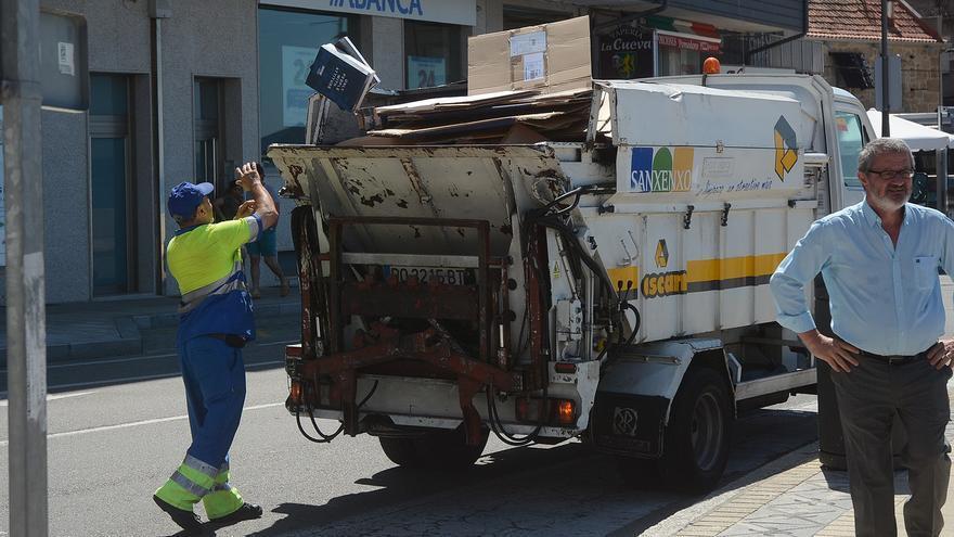 Sanxenxo supera la media de la tasa de reciclaje a nivel nacional