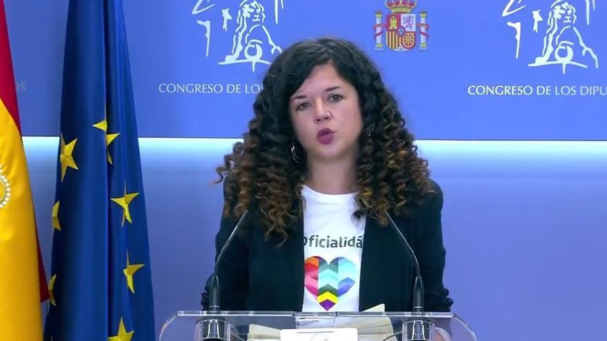 """Sofía Castañón apoya la candidatura de Yolanda Díaz: """"Será la primera presidenta de España"""""""