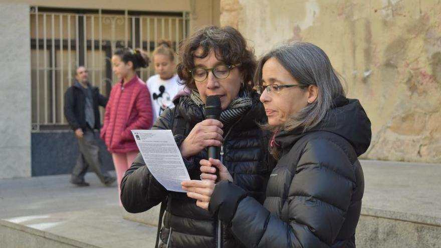 Manifestació 8-M a Berga