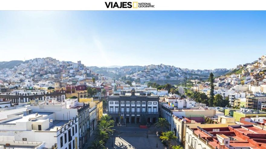 "La ""capital canariona"" enamora al National Geographic"