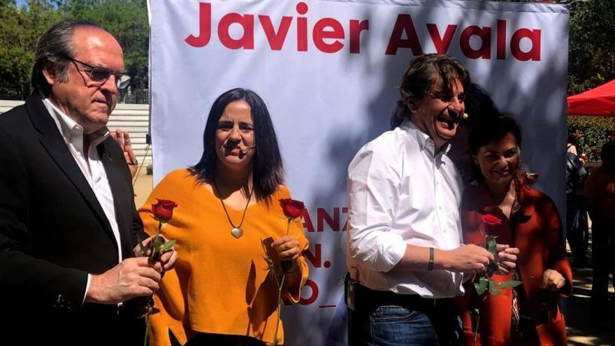 """Calvo llama a """"rematar"""" el trabajo del 28A en un mitin dedicado a Rubalcaba"""
