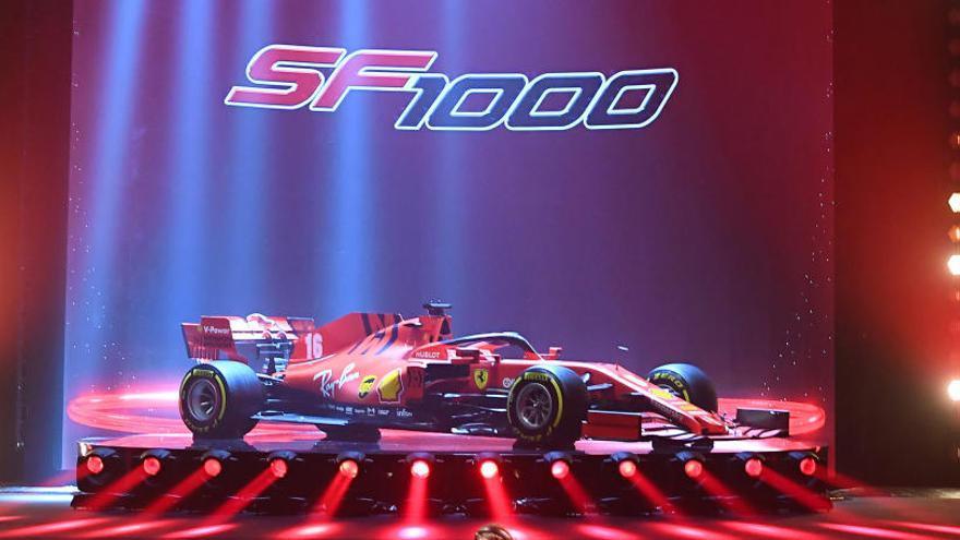 Ferrari presenta su monoplaza para 2020 en Reggio Emilia
