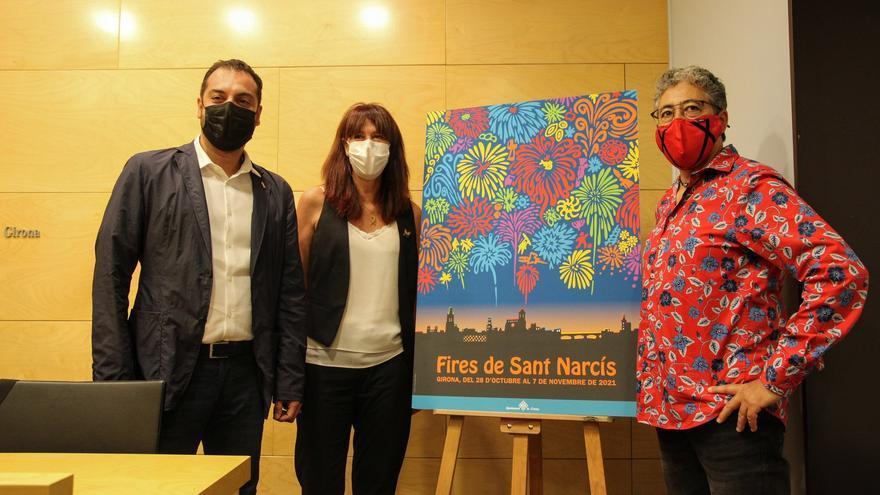 Aquest és el cartell de les Fires de Girona 2021