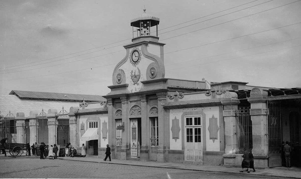 Entrada al muelle de pasajeros 1920 -1936